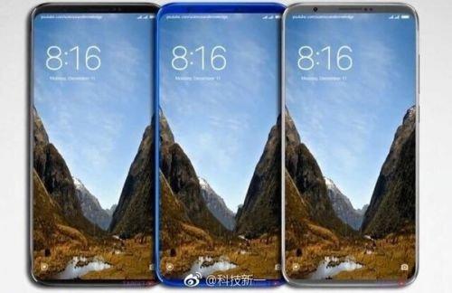 Xiaomi Mi 7 Concept Model 1