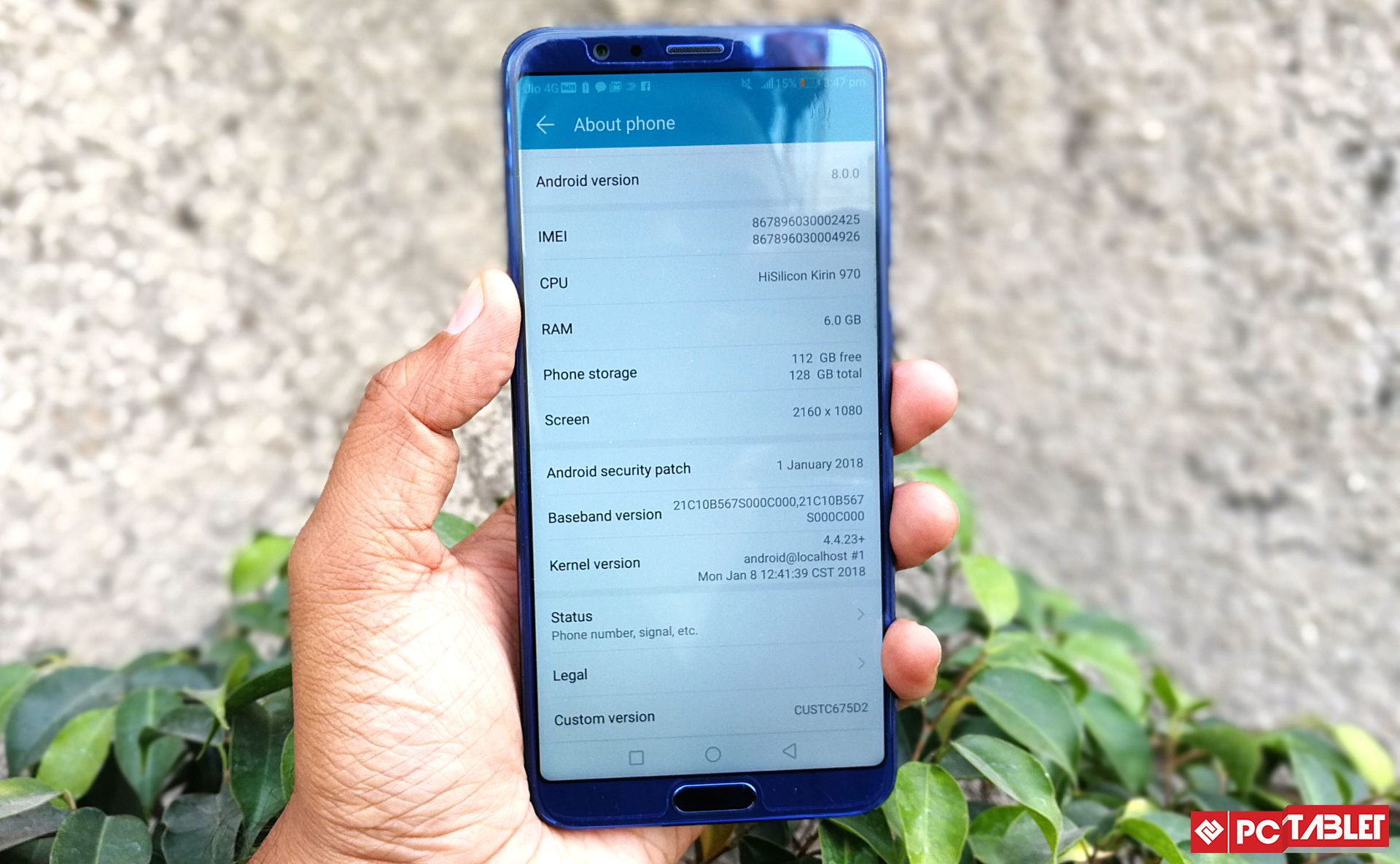 Honor View10 8