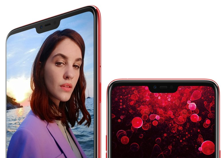 Oppo F7 frontal
