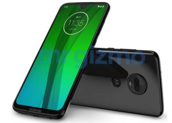 Leaked Moto G7 press render showcases waterdrop notch and dual cameras 350x250 1