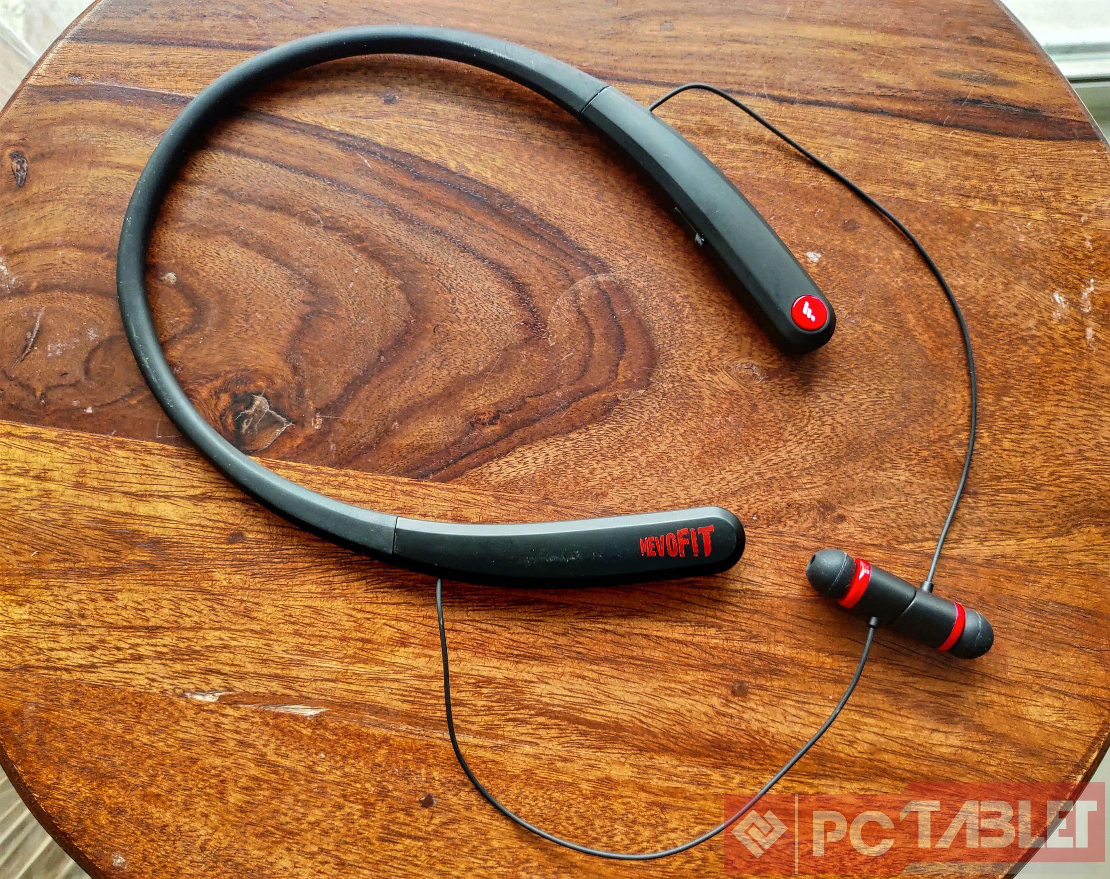 MevoFit Play N100 earphones 4