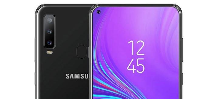 Samsung Galaxy A8s Concept render 1
