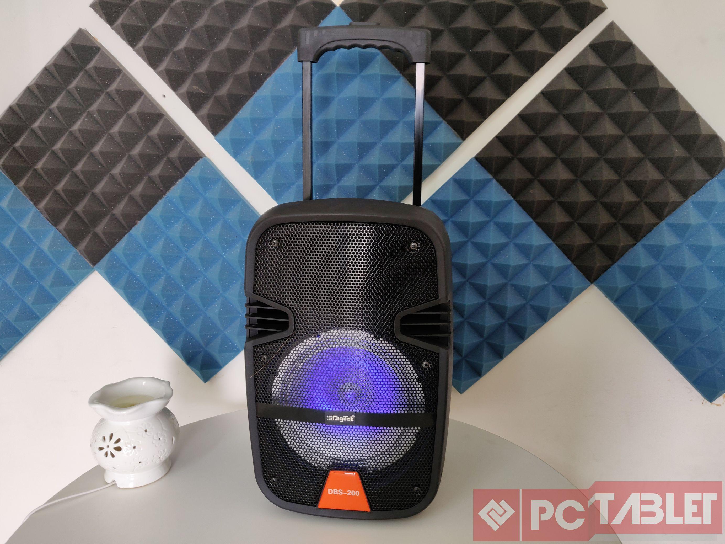Digitek DBS 200 trolley speaker 4