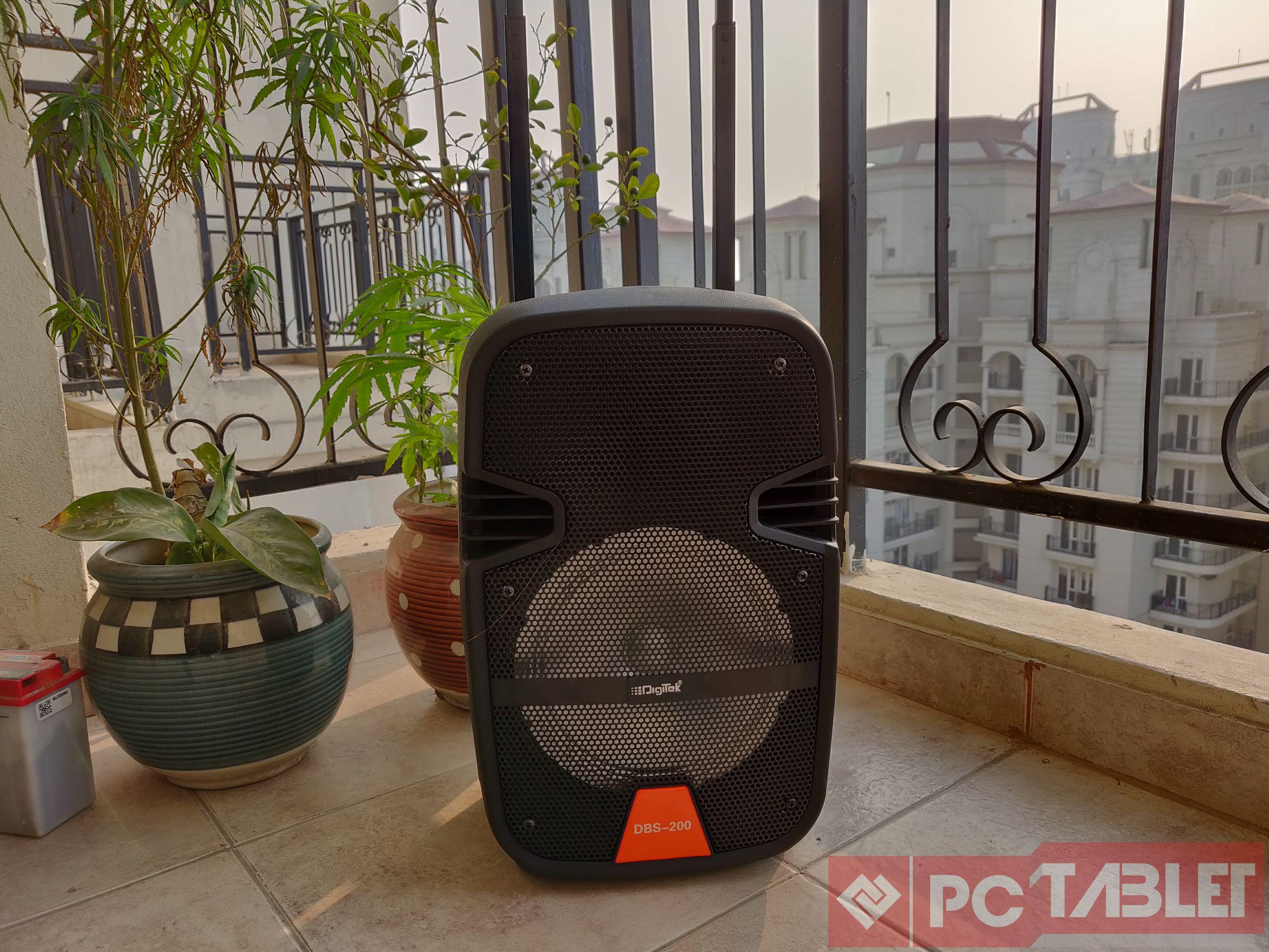 Digitek DBS 200 trolley speaker 5