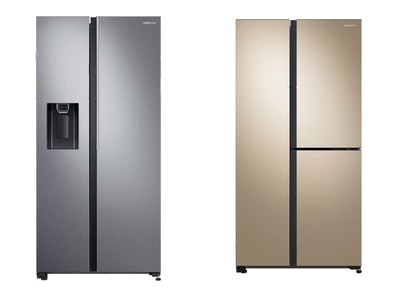 Samsung Side-by-Side SpaceMax Refrigerators