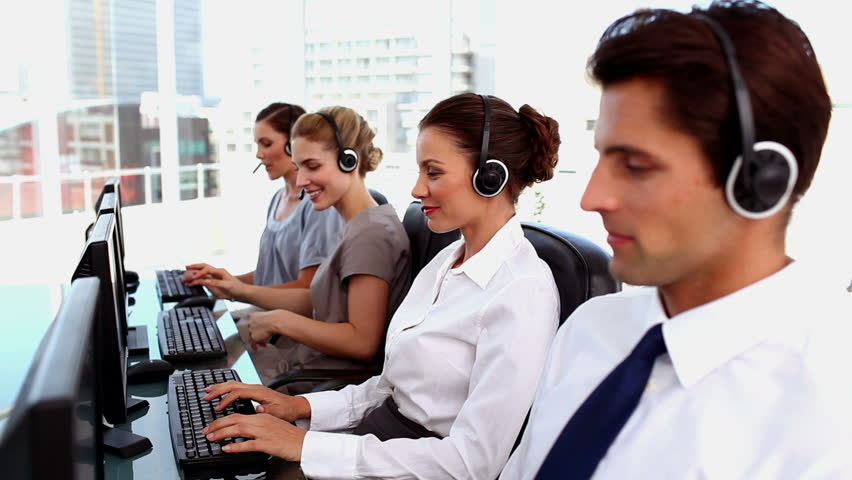 hiring a call center
