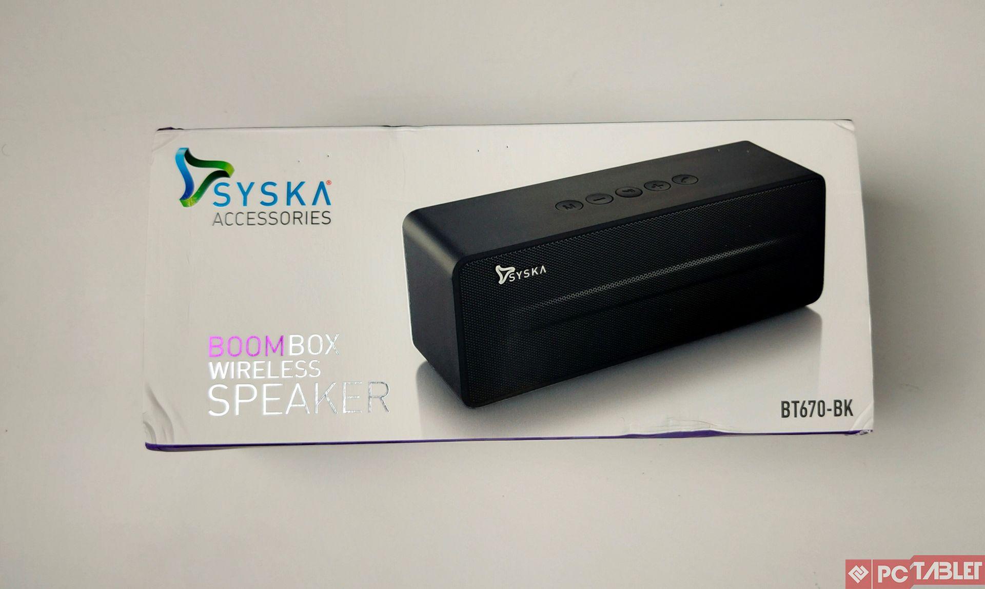 syska boom box 2