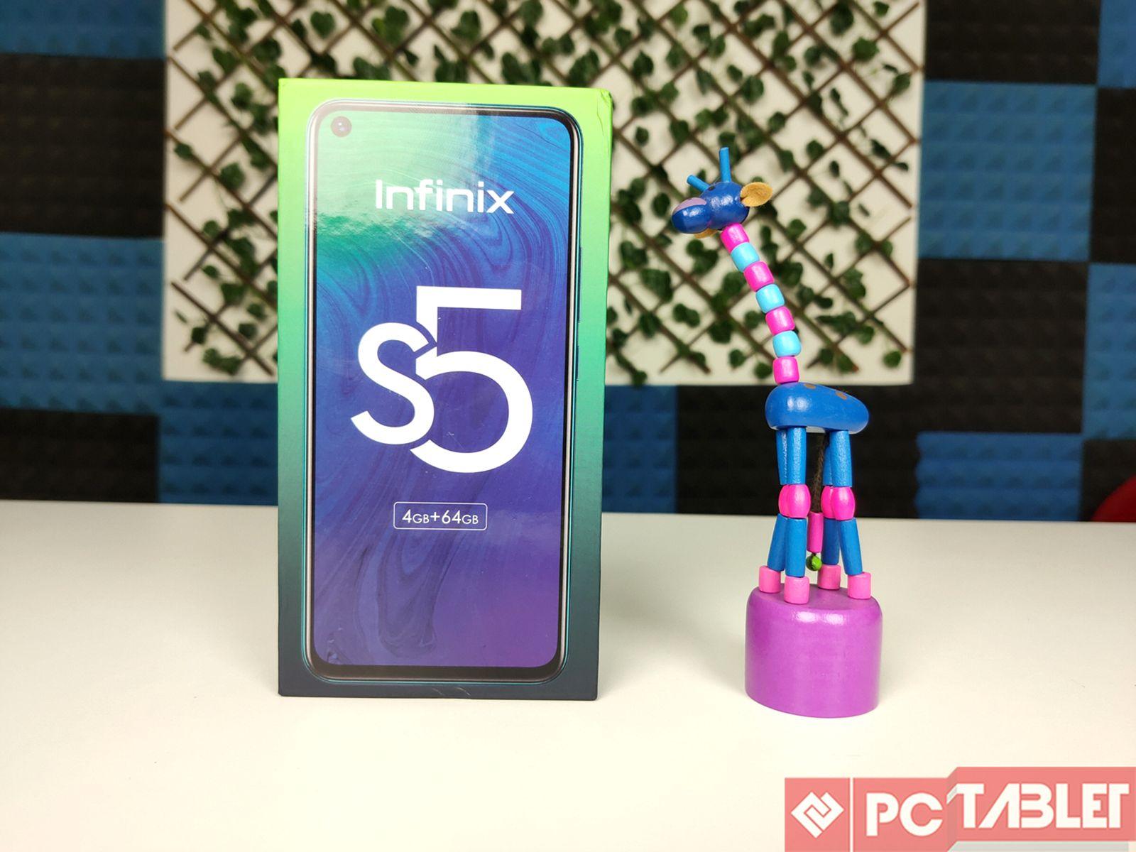 Infinix S5 xülasəsi - Telefonun görünüşü var! 8