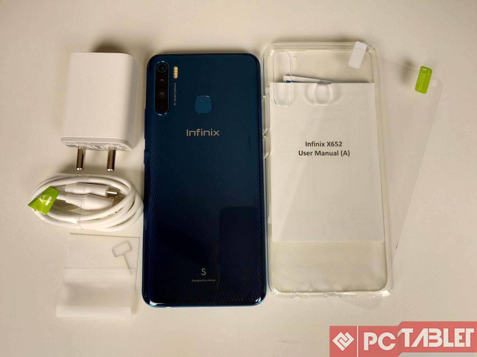 Infinix S5 xülasəsi – Telefonun görünüşü var!