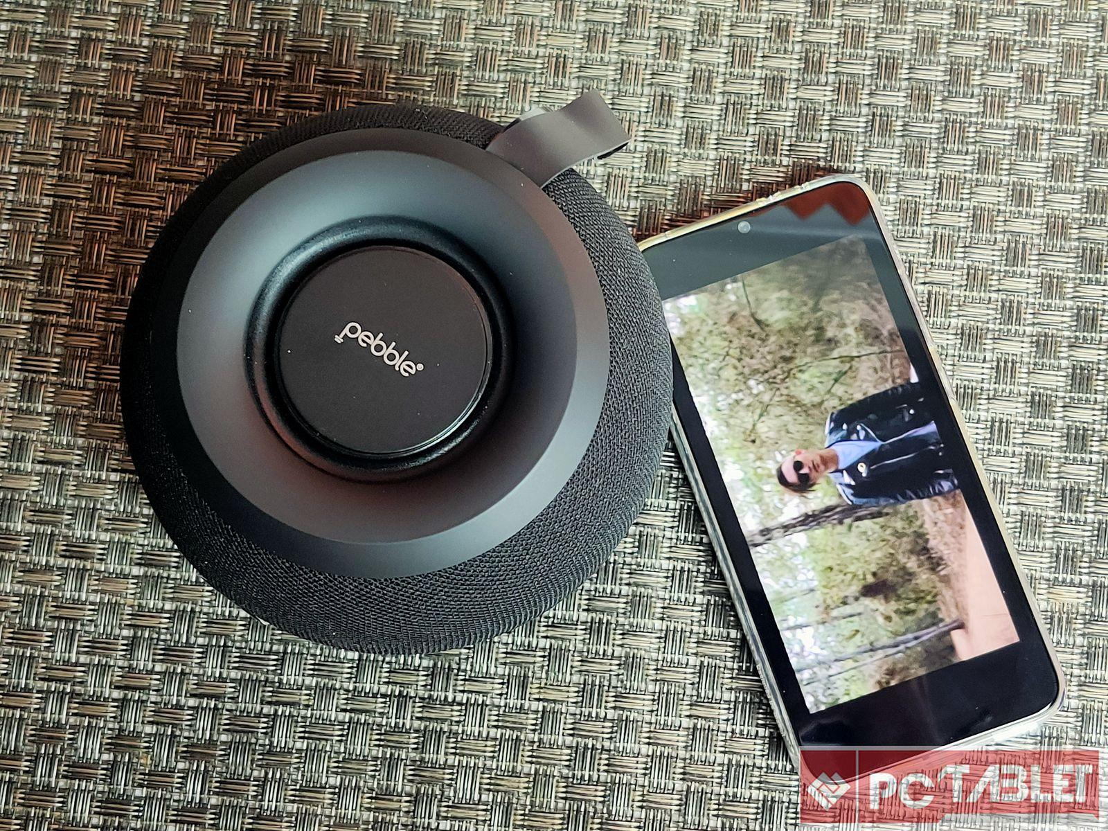 Pebble Dome Bluetooth speaker 6
