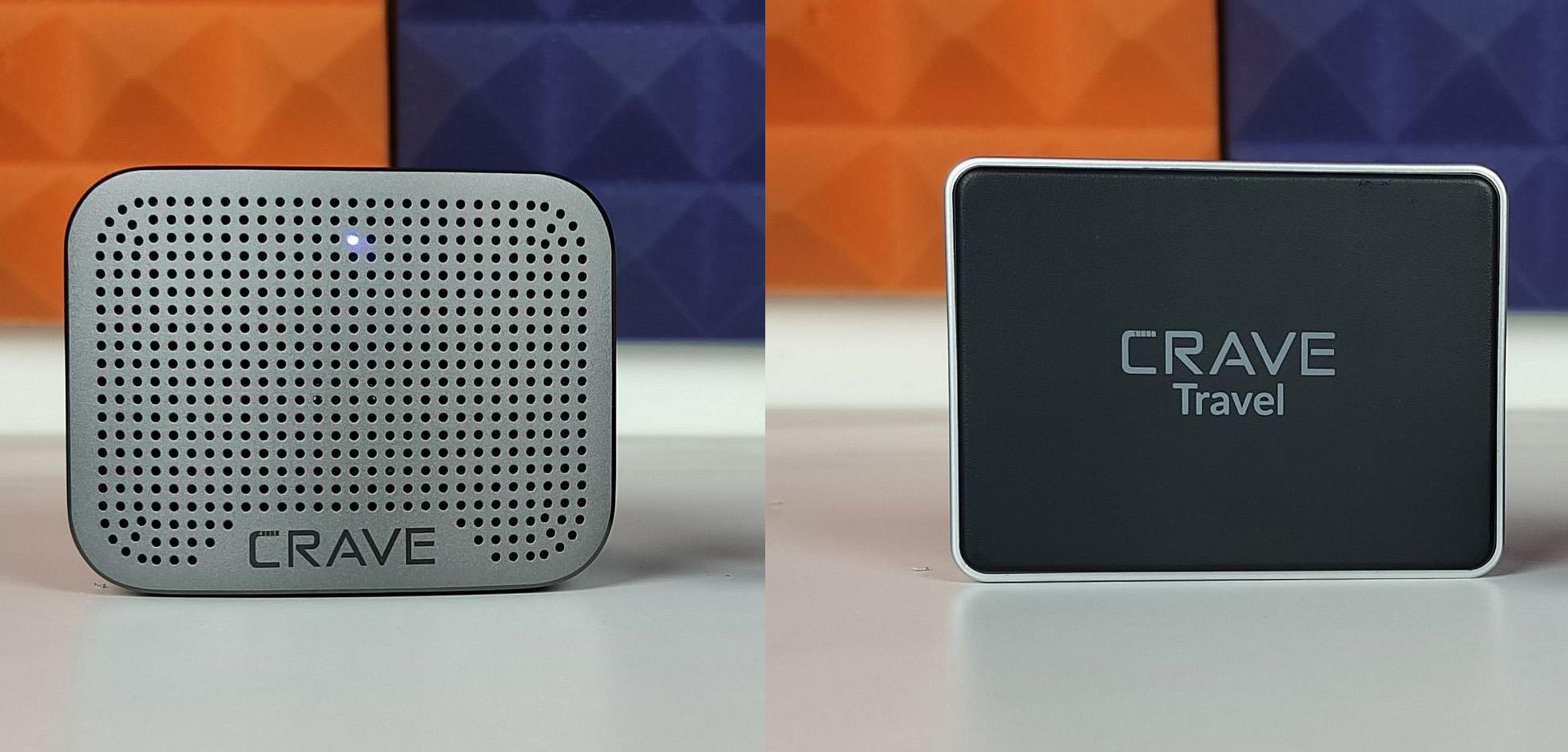 Crave Curve Mini Bluetooth speaker amp Crave Travel Power bank Review 2 1