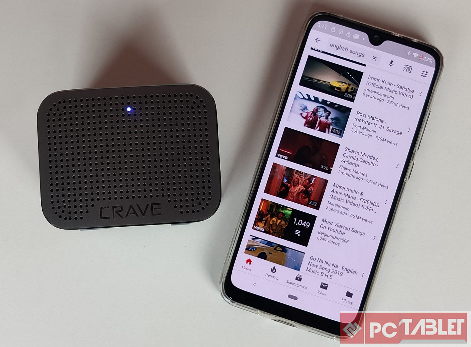 Crave Curve Mini Bluetooth speaker amp Crave Travel Power bank Review 6