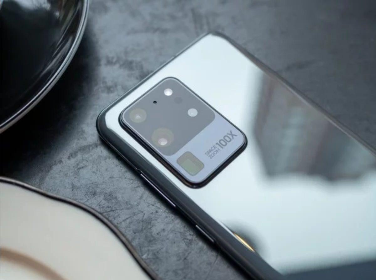 Galaxy S20 Ultra rear cam