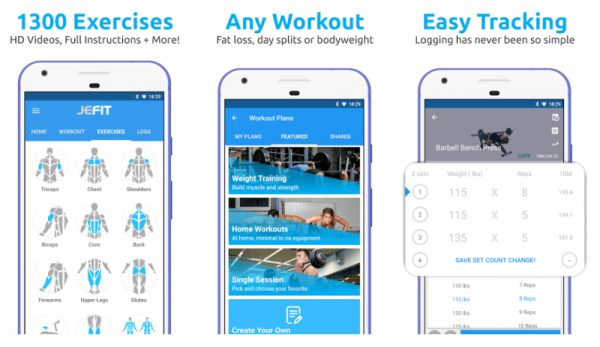 Jefit- Best Fitness Apps