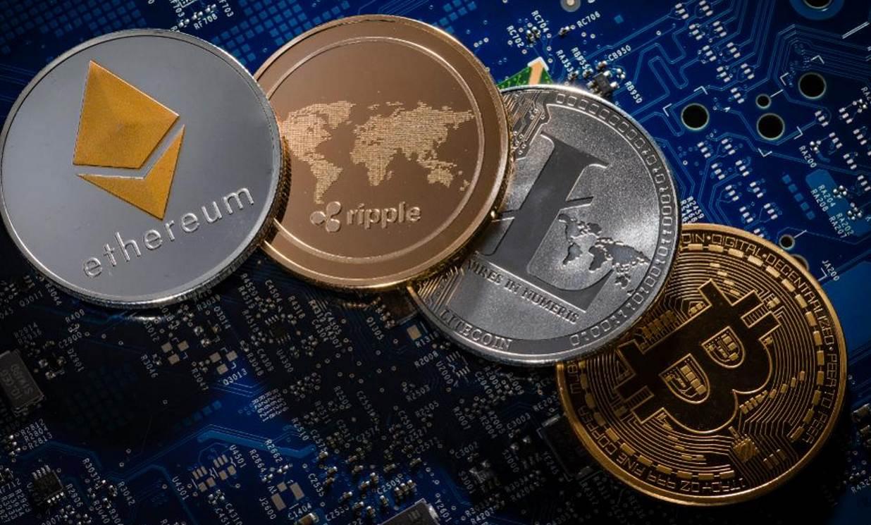Bitcoin Ethereum Ripple Litecoin