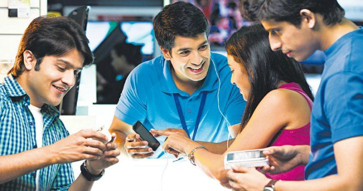 smartphone sale in India 1