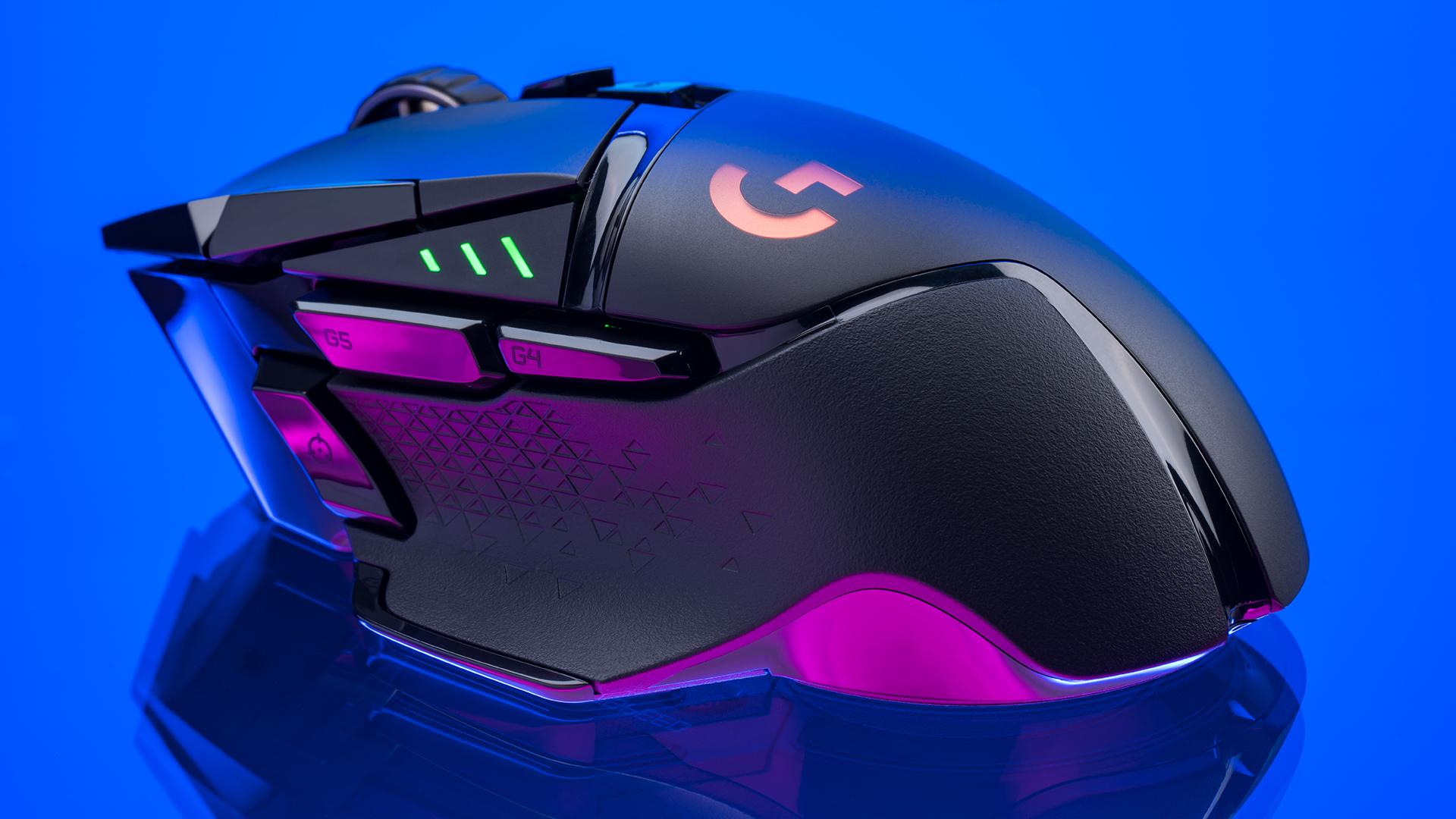 logitech g502 lightspeed wireless mouse review