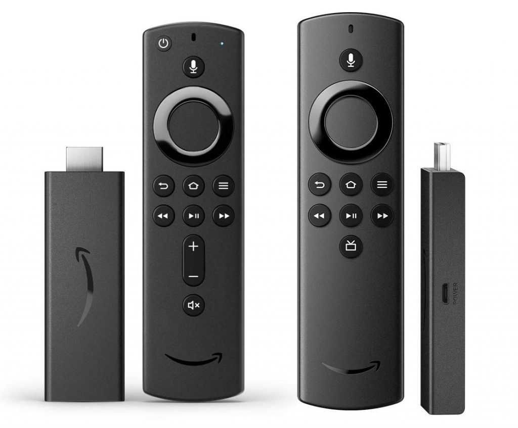 Amazon Fire TV Stick and Fire TV Stick Lite