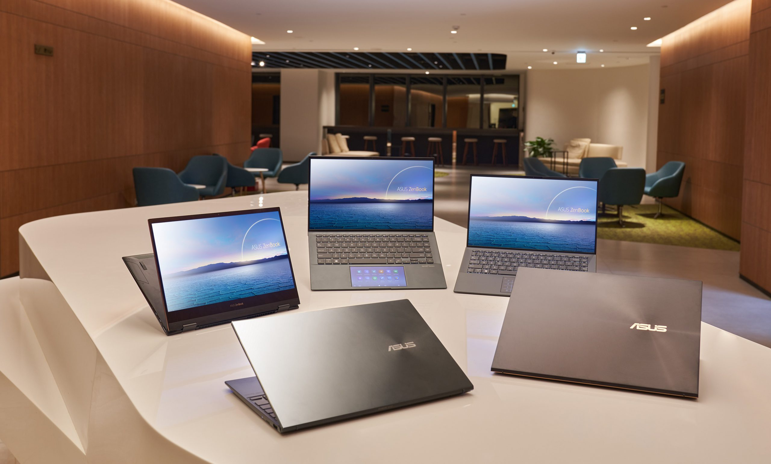 Asus laptops equipped with 11th Generation Intel Core processors scaled
