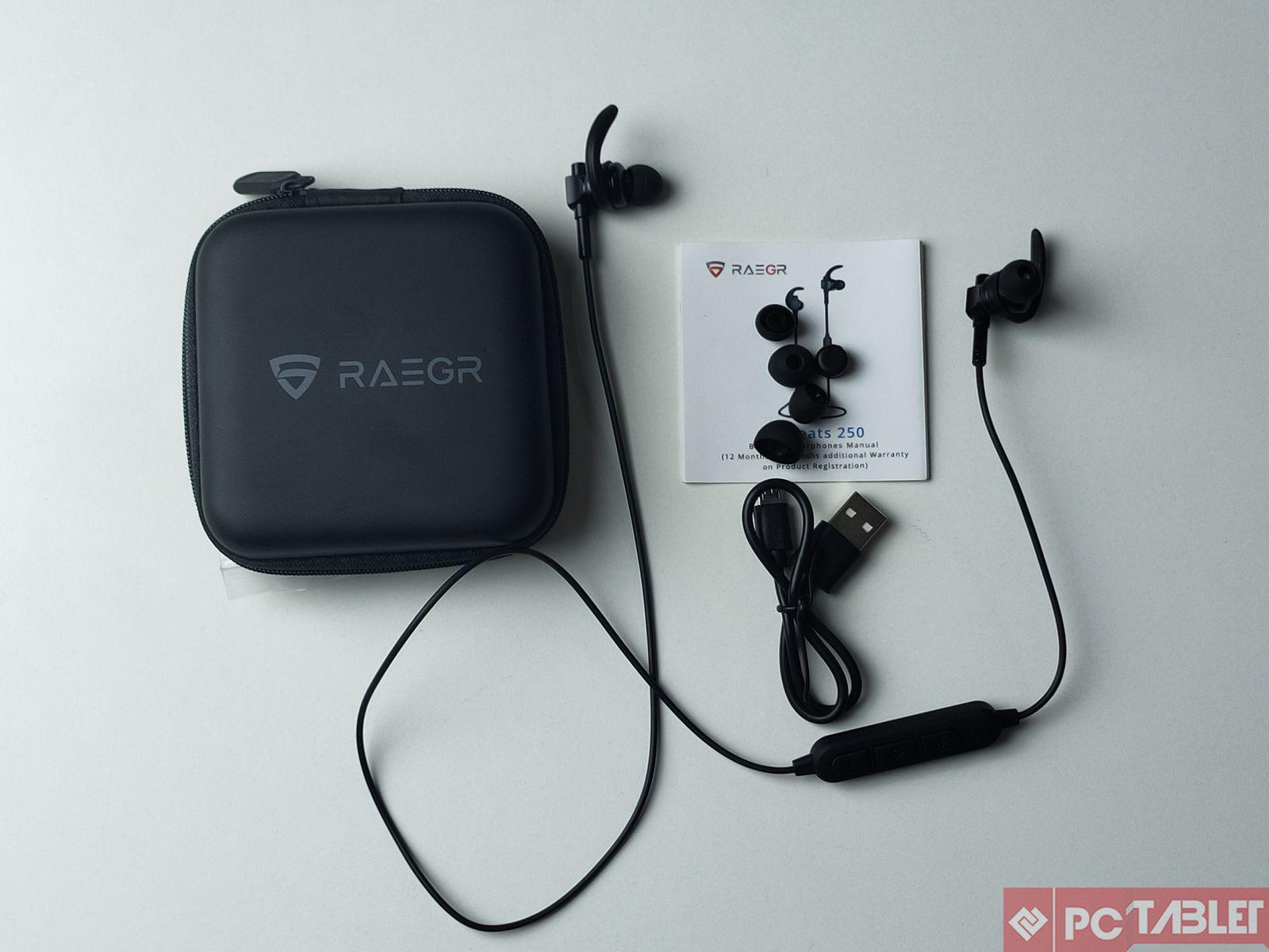 RAEGR 250 wireless earphones 7
