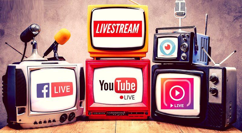 Social Media Live Streaming result