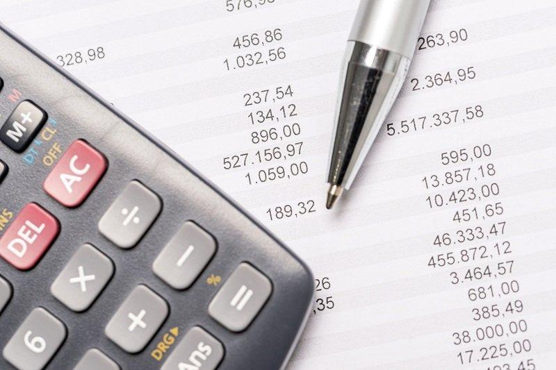 accounting financing calculator