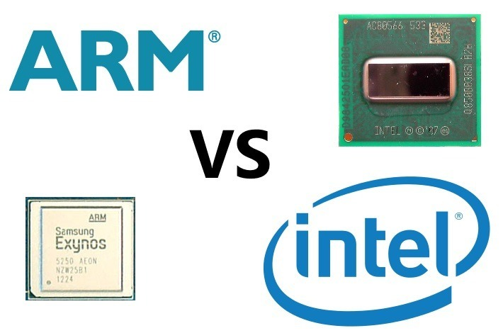 arm vs intel