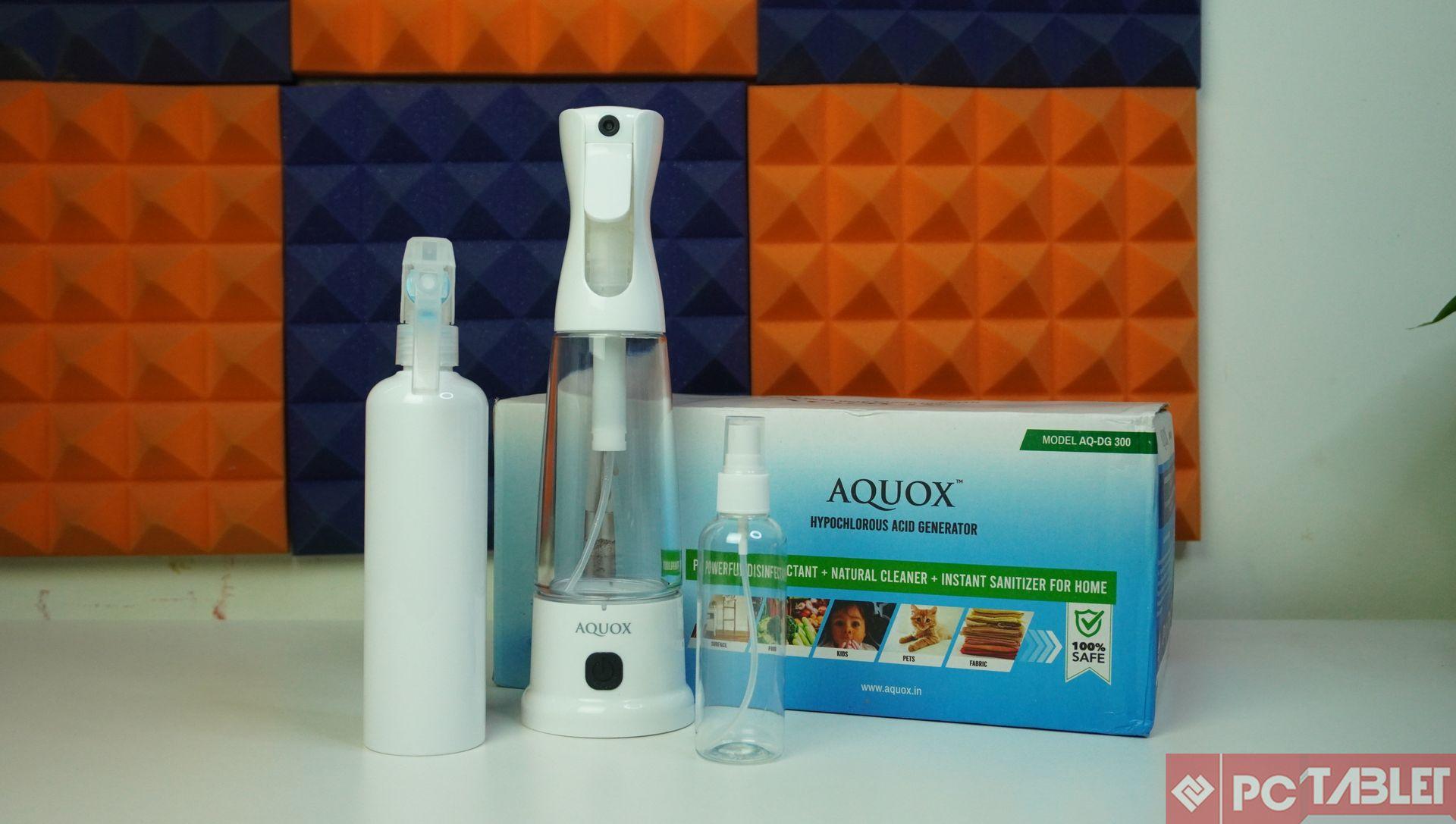 AQUOX Multi Purpose Hypochlorous Acid Generator AQ DG 300 Review 4