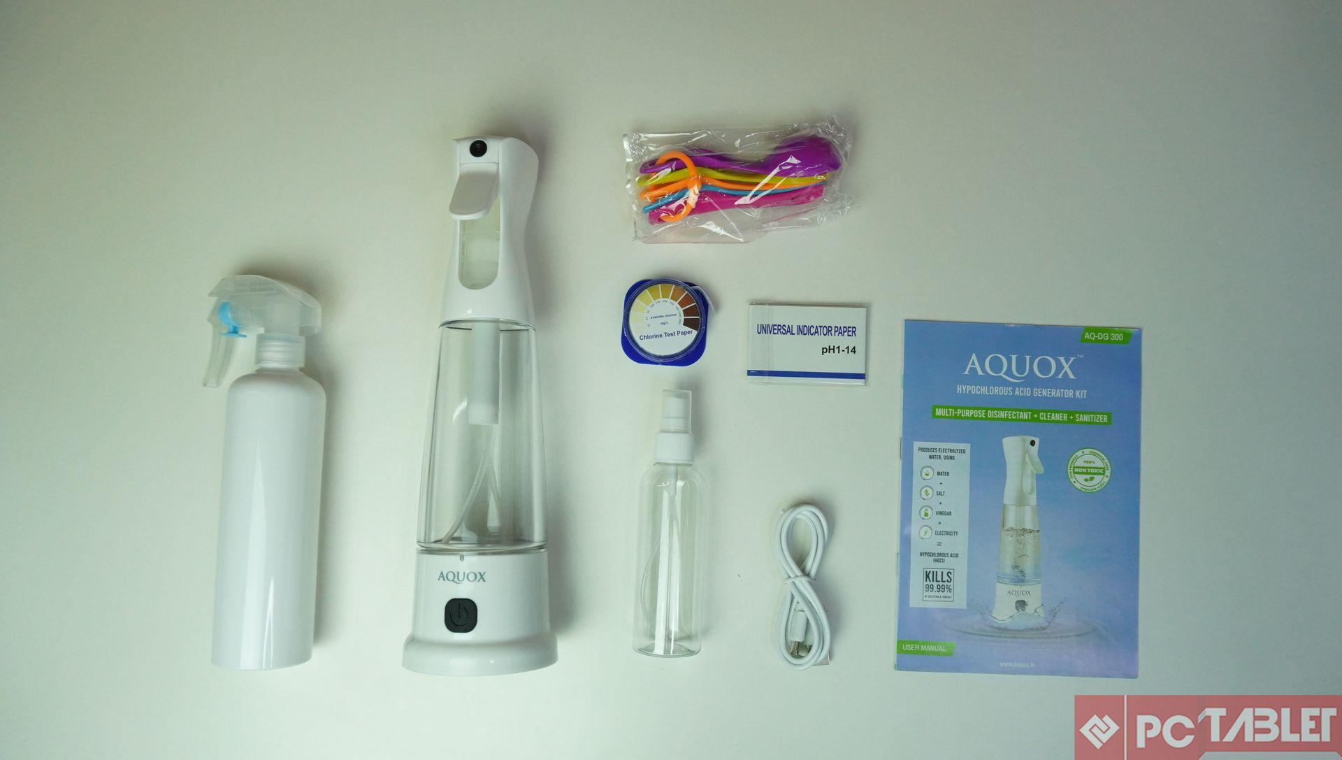 AQUOX Multi Purpose Hypochlorous Acid Generator AQ DG 300 Review 7