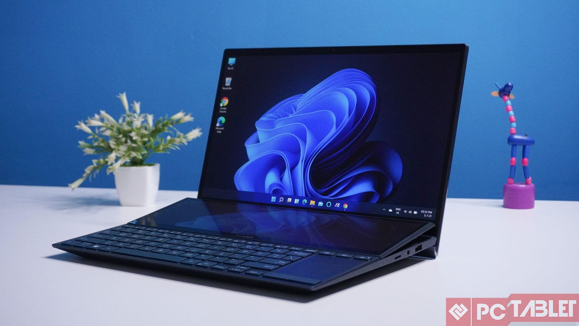 Asus ZenBook Duo 14 UX482E laptop Review 12