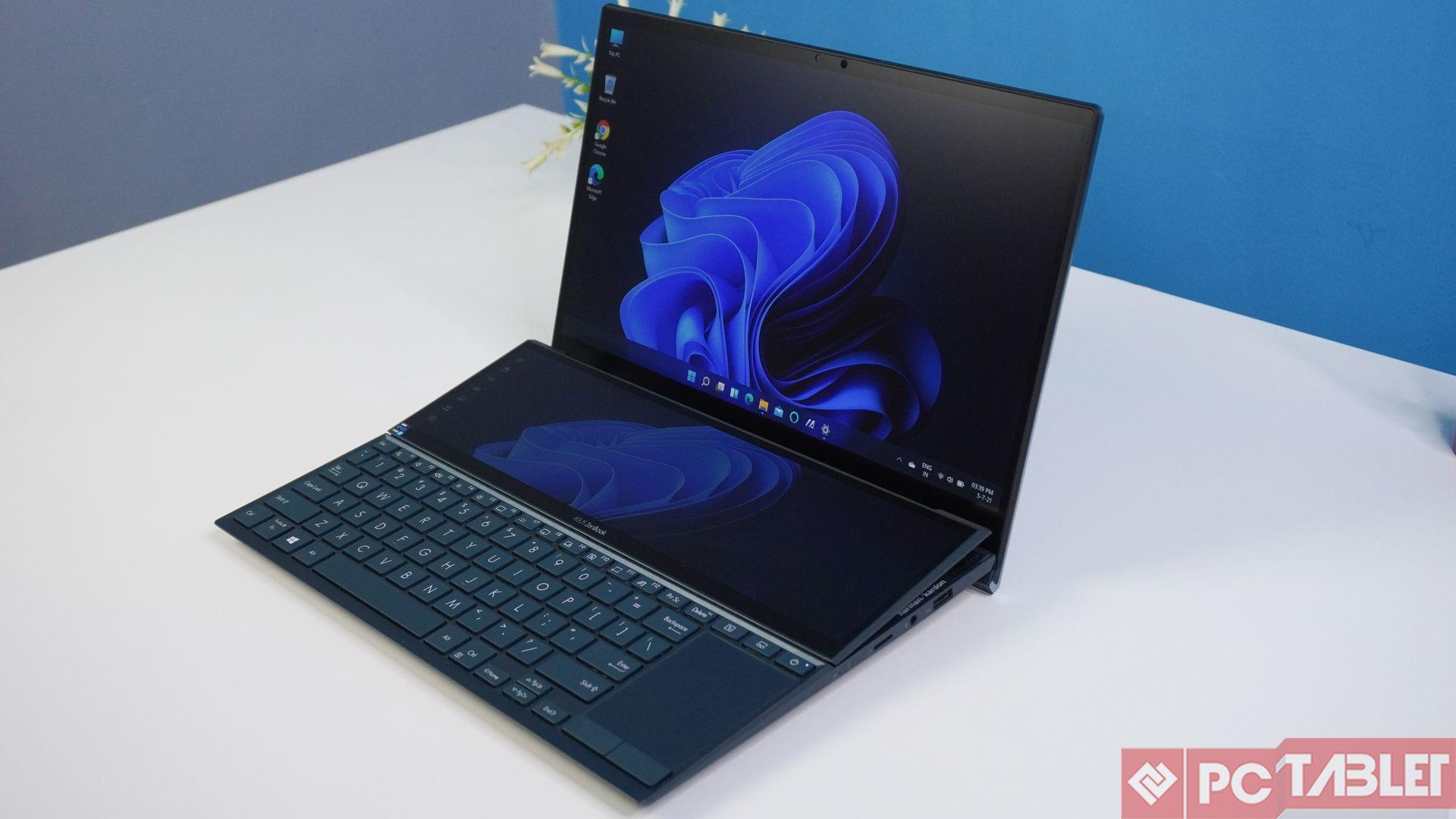 Asus ZenBook Duo 14 UX482E laptop Review 2