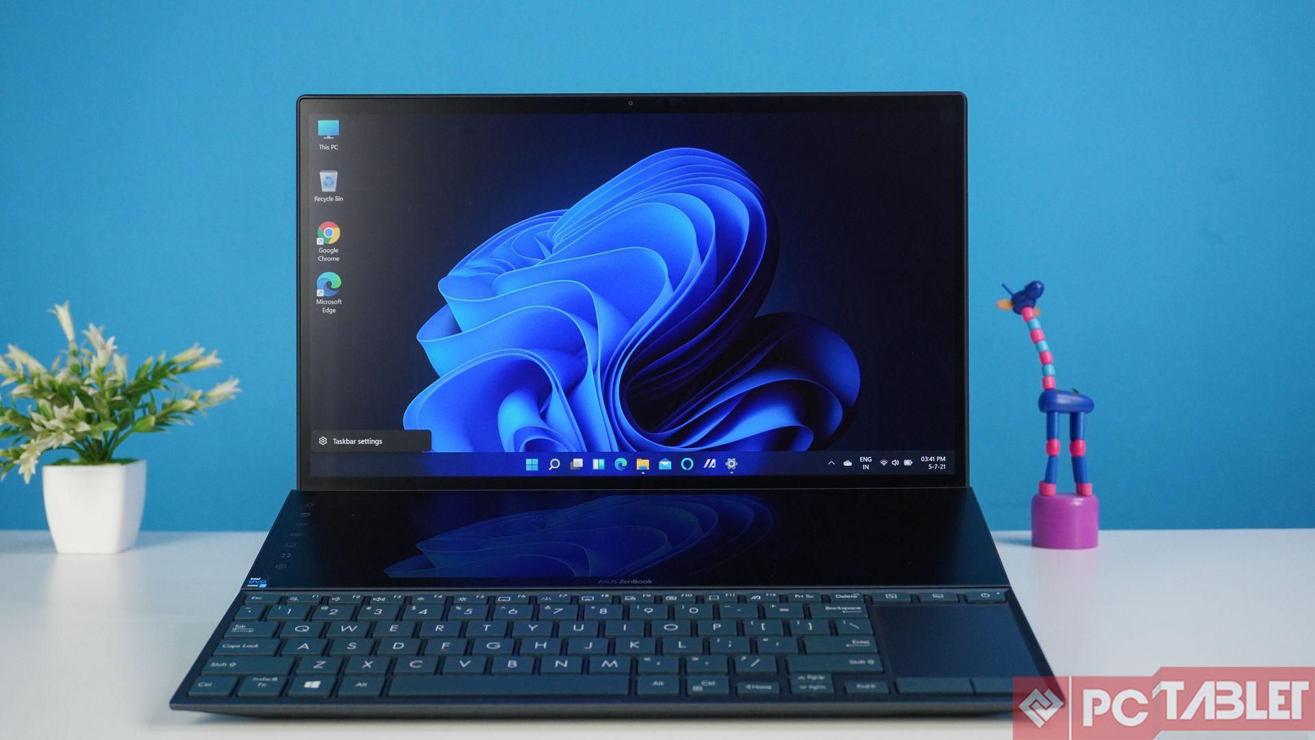 Asus ZenBook Duo 14 UX482E laptop Review 3