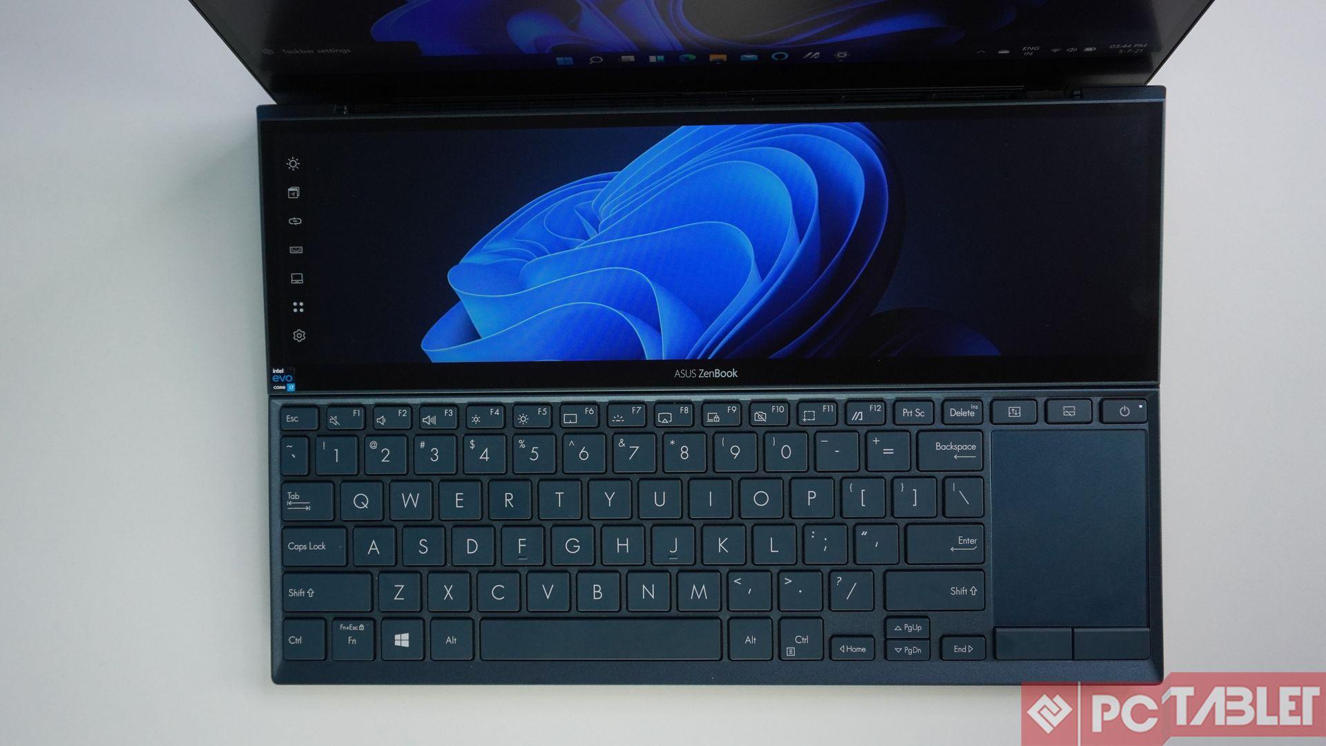 Asus ZenBook Duo 14 UX482E laptop Review 6