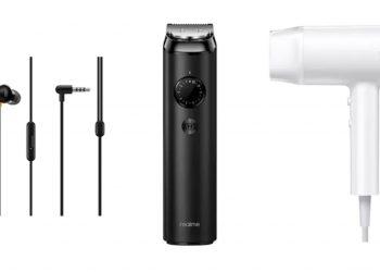 realme beard trimmer hairdryer earplug 350x250 1