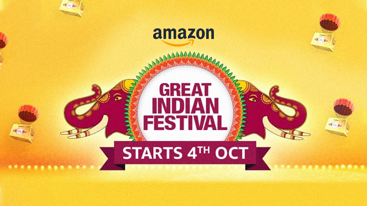 Amazon India Great Indian Festival 2021 Starts from 4th October