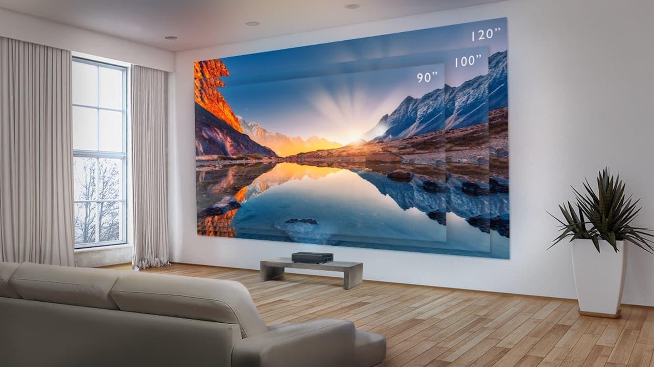 benq v7050i laser projector