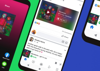 spotify songs within facebook